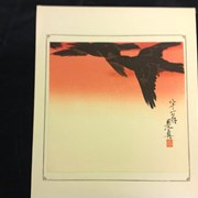 Cover image of Crows in Flight