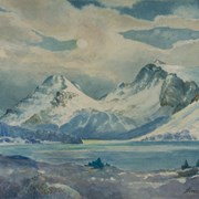 Cover image of Autumn Evening, 1958