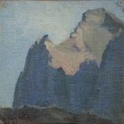Cover image of Mount Biddle near Lake O'Hara