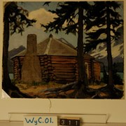 Cover image of Jimmy Simpson's Cabin, the Octagon