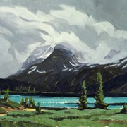 Cover image of Bow Lake, Crowfoot Glacier