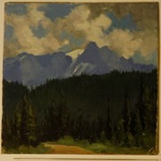 Cover image of Cathedral Mountain from Yoho Valley