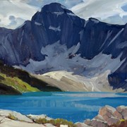 Cover image of Mount Biddle, Lake McArthur