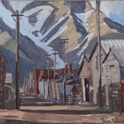 Cover image of Bear Street Alley, Banff