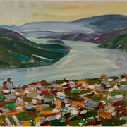 Cover image of The Yukon River, Dawson City