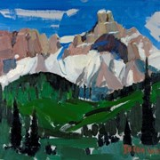 Cover image of Cathedral Mountain, Yoho Valley