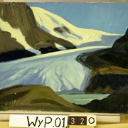 Cover image of Athabasca Glacier, Sunwapta Lake