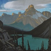 Cover image of Cathedral Mountain, Lake O'Hara