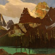 Cover image of Lake O'Hara and Mount Biddle