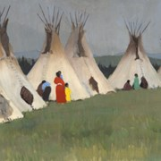 Cover image of Ten Teepees