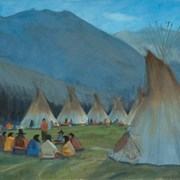 Cover image of Banff Indian Days Camp